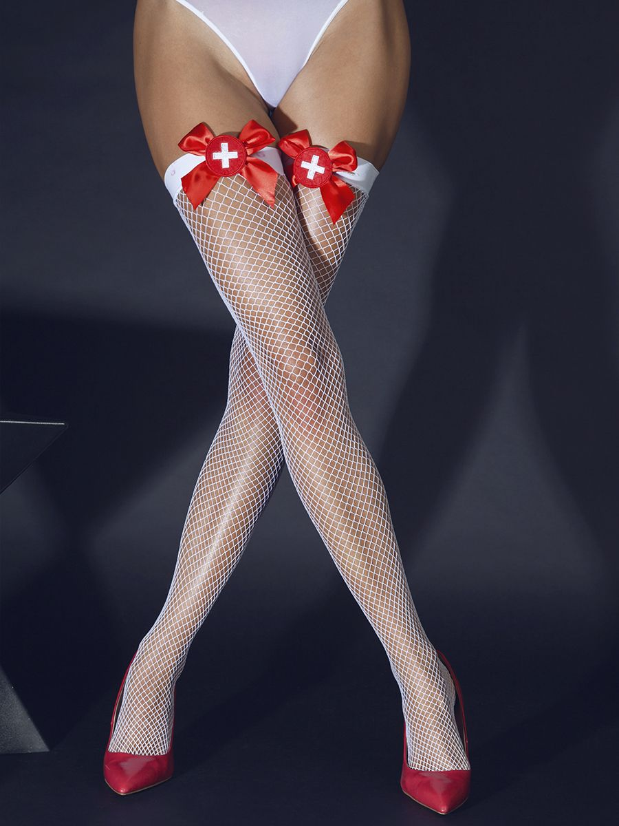 Nurse's fishnet stockings (Sense)