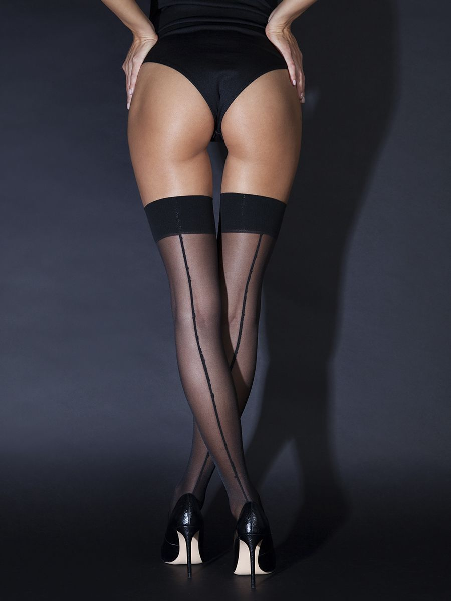 20D stockings with seam (Sense)