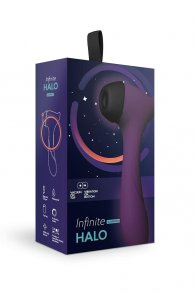Vacuum non-contact stimulator of clitoris with vibrating handle Halo (Infinite)